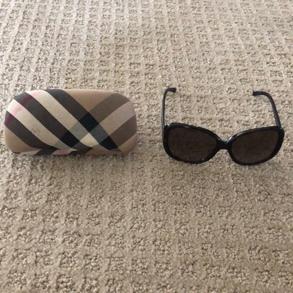 Burberry Sunglasses, tortoise shell color